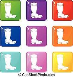Cowboy boot set 9