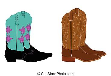 cowboy boots  - western cowboy boots