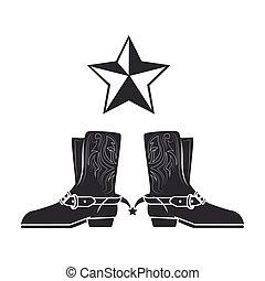 cowboy boots wild west