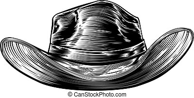 Cowboy Hat Drawing
