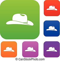 Cowboy hat set collection