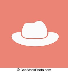cowboy hoed, pictogram