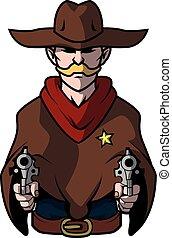 Cowboy Illustration Design