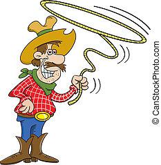 cowboy, laccio