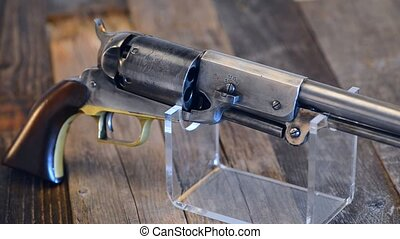 Cowboy Pistol. - Old western cowboy pistol.