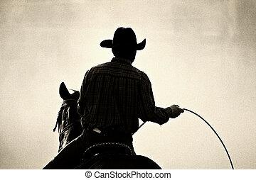 cowboy, rodeo