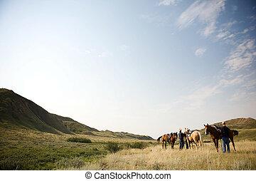 Cowboy Scene