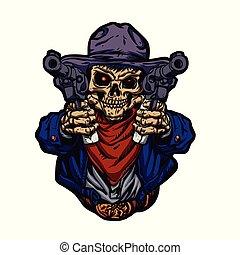 Cowboy skull kid