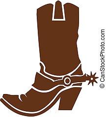d2cac3996022 cowboy støvle
