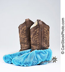 Cowboy Surgical Boots.