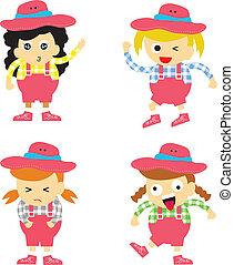 Cowboy vector cartoon