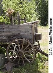 Cowboy Wagon and Hat