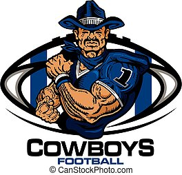 cowboys, fußball