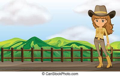 cowgirl , γέφυρα