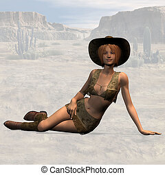 Cowgirl #04