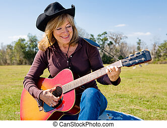cowgirl, chant
