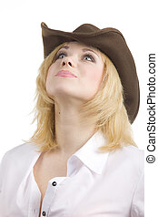 cowgirl look up
