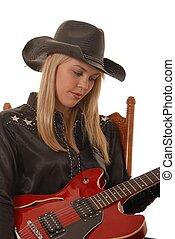 Cowgirl Musician Fou