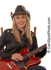 Cowgirl Musician Six