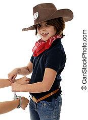 cowgirl, no trabalho