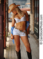 cowgirl, sexy