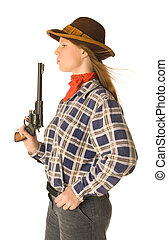 Cowgirl with a gun 2