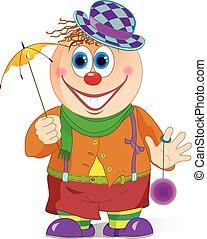 cown, parapluie