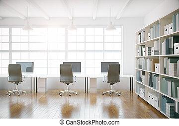 coworking, 辦公室內部, 前面