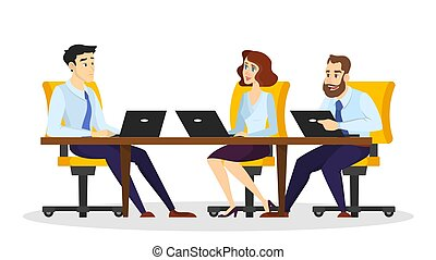 Coworking concept. Idea of the business people