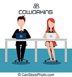 coworking, design.