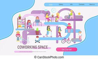 coworking, espacio