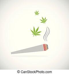 coyuntura, fumar, droga de marihuana, cigarrillo