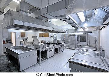 cozinha comercial
