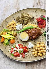 cozinha, ethiopian