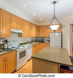cozinha, projeto interior