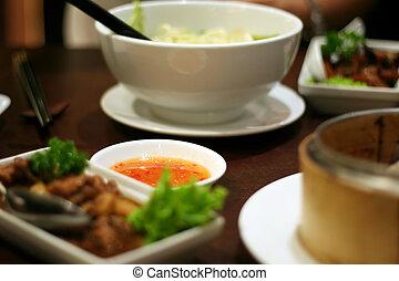 cozinha tradicional, chinês