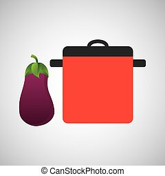 cozinhando potenciômetro, ícone