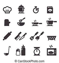 cozinhar, ícone