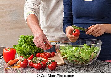 cozinhar, comum