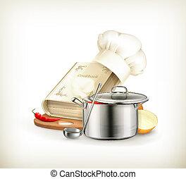 cozinhar, vetorial