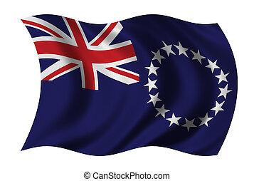 cozinhe bandeira ilhas
