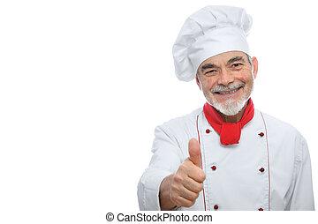 cozinheiro, bonito