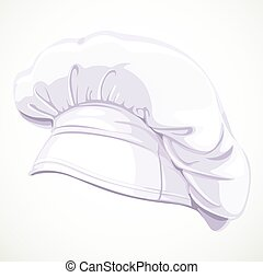 cozinheiro, branca, modernos, chapéu