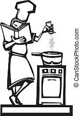 cozinheiro, cookbook