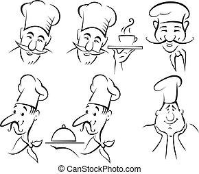 cozinheiro, cozinheiro, jogo, -