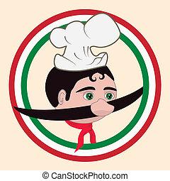 cozinheiro, italiano