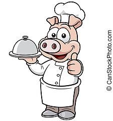 cozinheiro, porca