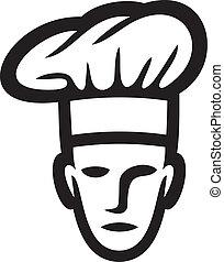 cozinheiro, rosto