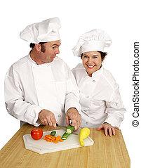 cozinheiro, shool, -, palhaço classe