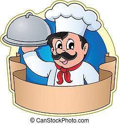 cozinheiro, tema, 5, imagem